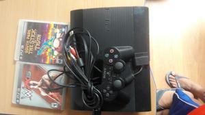 Vendo Consola,mando Y 2 Juegos de Ps3