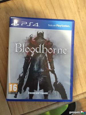 vendo o cambio bloodborne juego de ps4 nuevo
