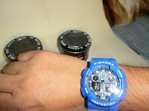 Casio G Shock Ga 100.. Reloj Importado De China, Cronómetro