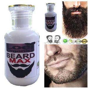 Loción para crecimiento de la barba
