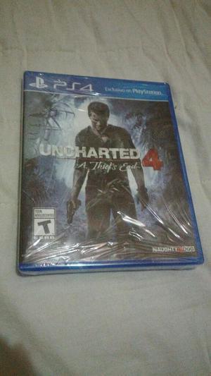 Ps4 Uncharted4 Nuevo Y Sellado