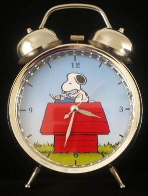 Reloj Despertador Estilo Vintage Snoopy Envio Gratis Peru