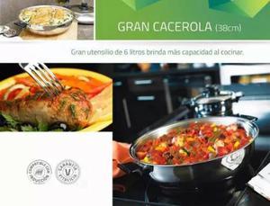 Utensilios de cocina en acero quirurgico rena posot class for Utensilios alta cocina