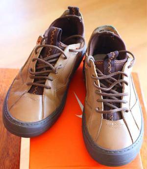 Zapatos Cuero Marca Guante Talla 40