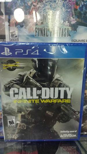 Call Of Duty Infinite Warfare Ps4 Sellad