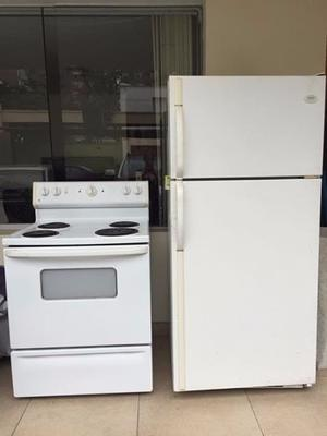 Cocina Y Refrigeradora
