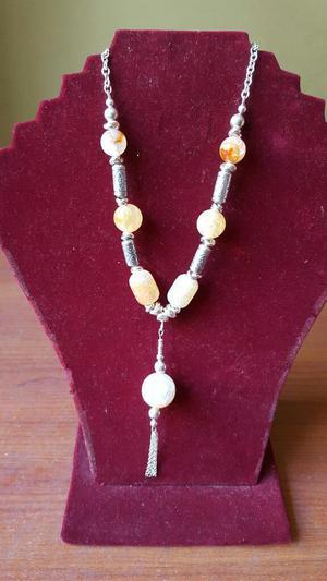 Hermoso Collar de Plata 950