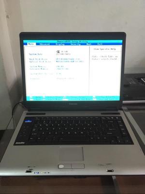 Laptop Toshiba 2Gb Ddr2 80Gb Sata 15.4
