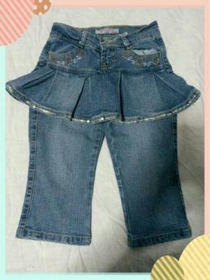 Pantalón Jeans para Niña Talla 8