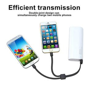 Pulsera Cable Usb Para Android Y Iphone