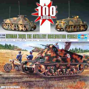 Tanque Aleman Segunda Guerra Mundial Soldados Cañon Avion