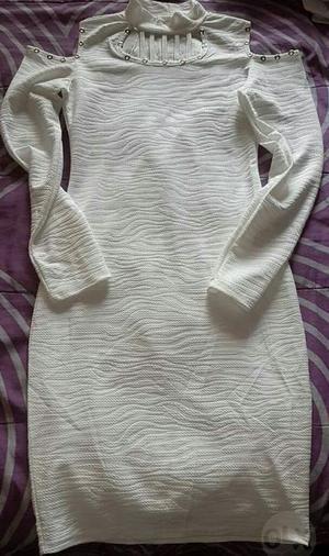 Vestido Blanco Talla S