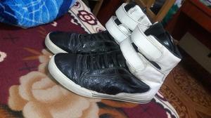 Zapatillas Supra Tk Society Blanco con N