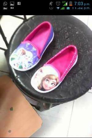 Zapatillas Zapatos Zapatitos Balerinas Frozen Minnie