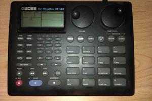 Bateria Boss Roland Dr-660 Dr. Rhythm - Caja De Ritmos
