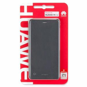 Flip Cover Huawei P9 Lite 100% Originales, Blanco Y Negro