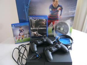 Playstation 4 2 Controles Dual Shock 4 Juegos