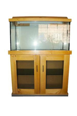 Muebles para acuario en pino posot class for Mueble acuario