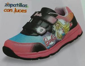 Barbie Zapatillas Con Luces Para Niñas - Zapatos