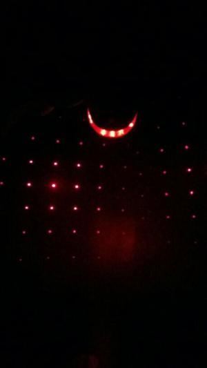 Luz Trasera con Proyección Láser D Punto