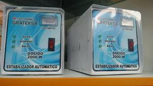 ESTABILIZADOR DE CORRIENTE DE  EN SOLIDO 350SOLES