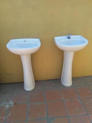 Vendo lavamanos e inodoro con accesorios lima posot class for Lavamanos con pedestal
