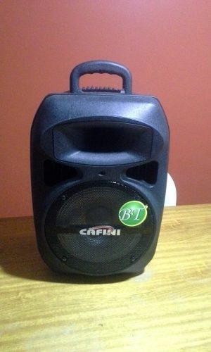 Parlante Cafini Portatil Con Bluetooth En Caja Como Nuevo