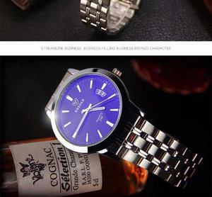 Reloj Masculino De Acero Inoxidable