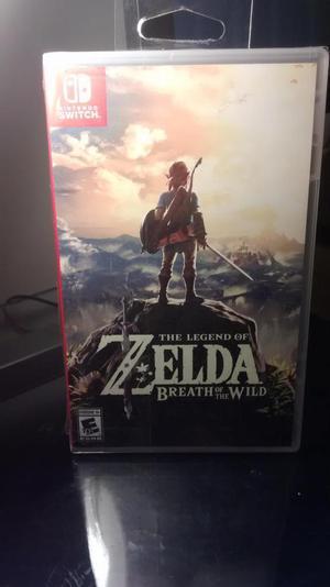 Zelda Breath of the Wild para Nintendo Switch / NuevoSellado