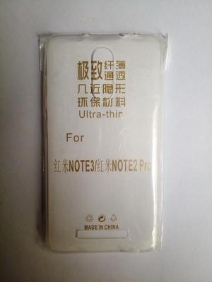 Case protector de silicona para Xiaomi Redmi note 2 / 3