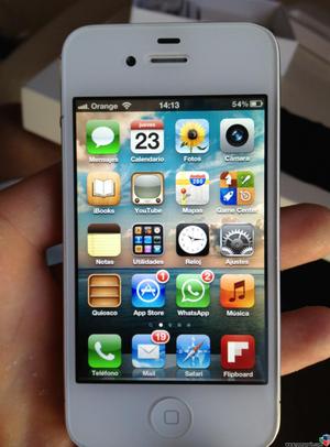 IPHONE 4S 16GB Libre de Icloud y Operador