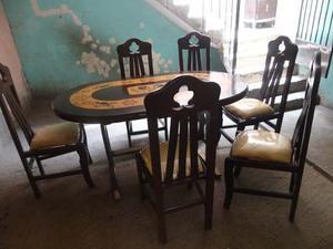 Juego de comedor mesa 4 sillas moderno posot class for Comedor 6 sillas usado