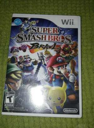 Juego Super Smash Bros Para Nintendo Wii