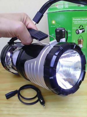 Lampara Solar Cargador De Celular Solar Linterna Solar