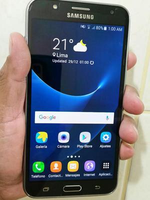 Samsung Galaxy J7 Negro Impecable