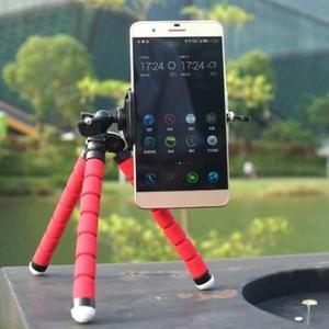 Tripode Pulpo Flexible Celular ROJO AZUL Samsung Lg Tablet