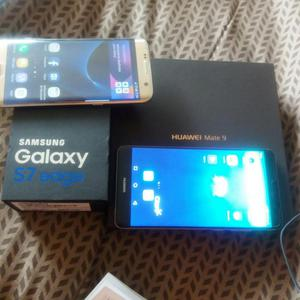 Venta de Sansung galaxy S7 Edge y Huawei Mate 9 S/.