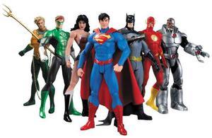 New 52 Justice League 7 Pack - Liga De La Justicia Superman