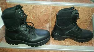 Nuevo Zapatos Bota Militar Talla 40 a 41