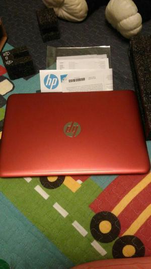 Vendo Laptop Hp Rojo Nuevecito en Caja