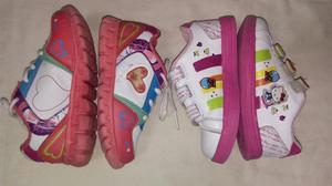 Zapatillas de Niña Talla 27 Buen Estado