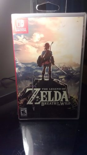 Zelda Breath Of The Wild Para Nintendo Switch