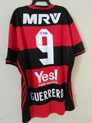 Camiseta Flamengo Guerrero Trauco  S M L