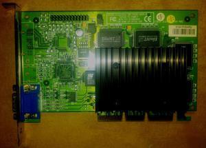 Tarjeta De Video Agp Nvidia De 128 Mbt, En Arequipa