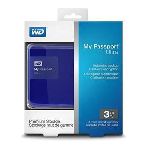 Disco Duro Portatil 3tb Wd My Passpor Ultra Nuevo Acepto Cel