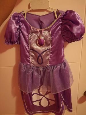 Vestido de Sofia La Princesa para Niñas