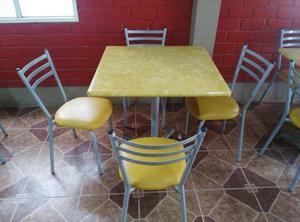 6 juegos de comedor mesas y sillas para casa o negocio