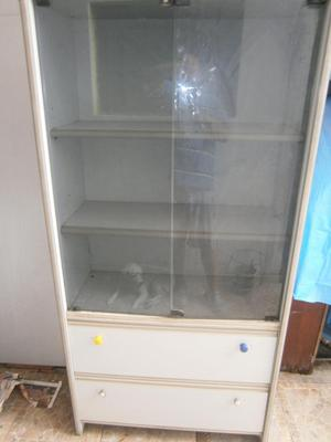 mueble librero con puertas posot class