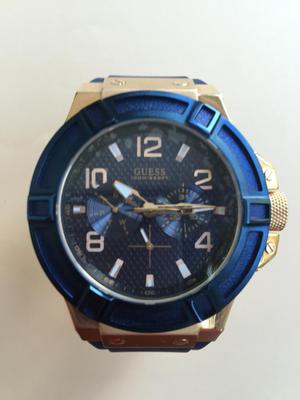 Reloj Original Guess Pvd Rose Gold Blue WG3
