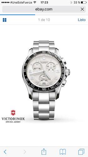 Reloj Victorinox Chronograph Bulova Tissot Edox Swiss Made